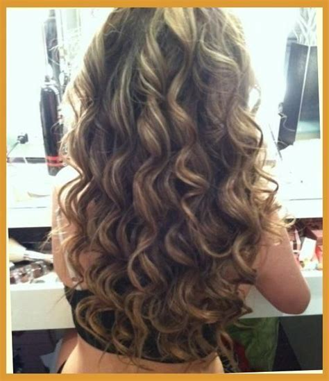 When Was Big Perm Hair Popular | brown amp blonde smokey curls hairstyles and beauty tips