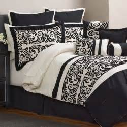 30 piece comforter set bedroom bedding black size full