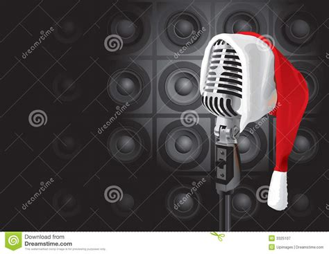 Christmas Party Song - christmas music event vector royalty free stock photography image 3325107