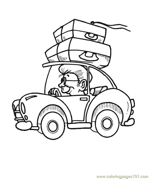cars land coloring pages free land transport coloring pages
