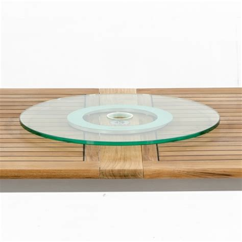 glass table top lazy susan lazy susan westminster teak outdoor furniture