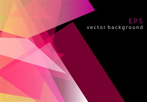 background vector pink geometric prizma vector background download free