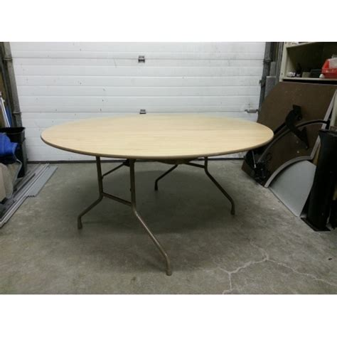 5 Foot Folding Table 5 Foot Folding Table Correll Flip Top Folding Tables Ft2460m 5 Foot Melamine Top Table 5 Foot