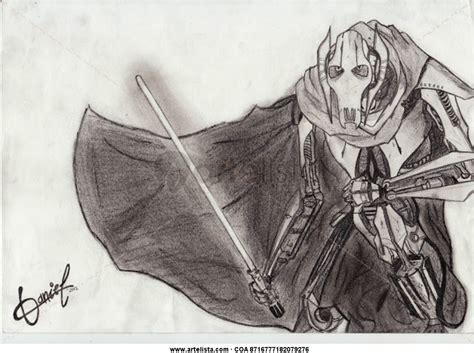 imagenes de star wars a lapiz general grievous star wars dani fuentes artelista com