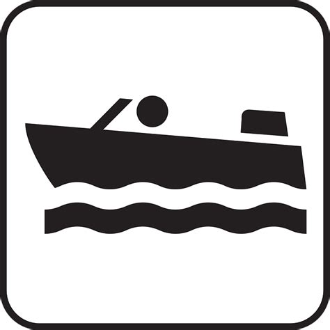 boat drawing symbol motor boat boat motor engine 183 free vector graphic on pixabay