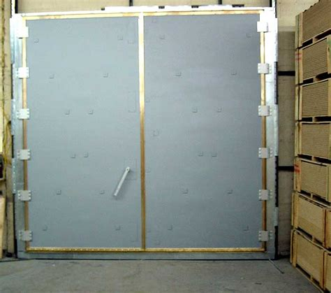 Shield Doors by Universal Shielding Rf Shielded Room Copper Screen And Enclosure Doors