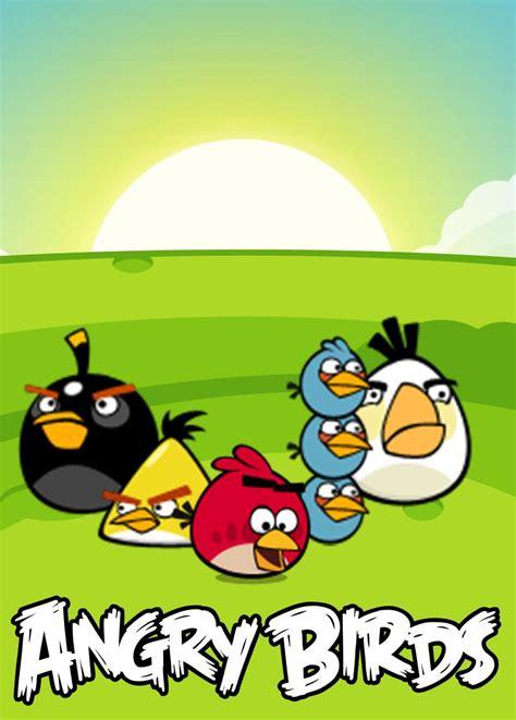 Wallborder Motif Angry Bird angry birds wallpaper oyunları oyun oyna en kral oyunlar seni bekliyor