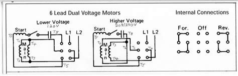 6 lead 3 phase motor wiring diagram wiring diagram with