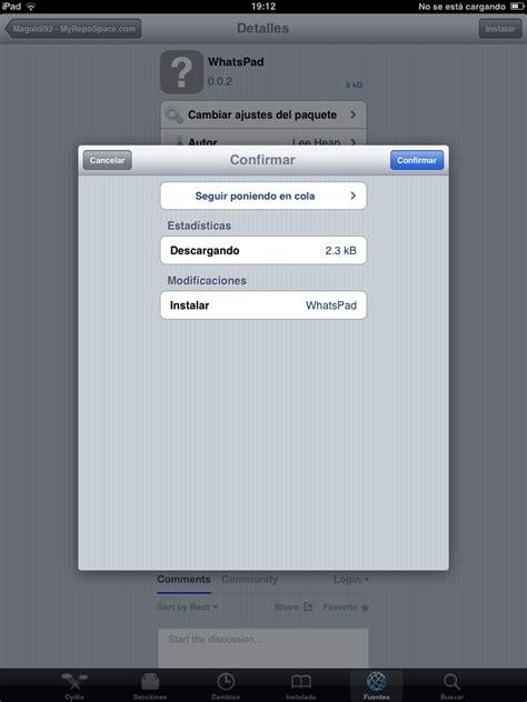tutorial instalar whatsapp en ipad tutorial whatsapp en ipod ipad sin jailbreak taringa