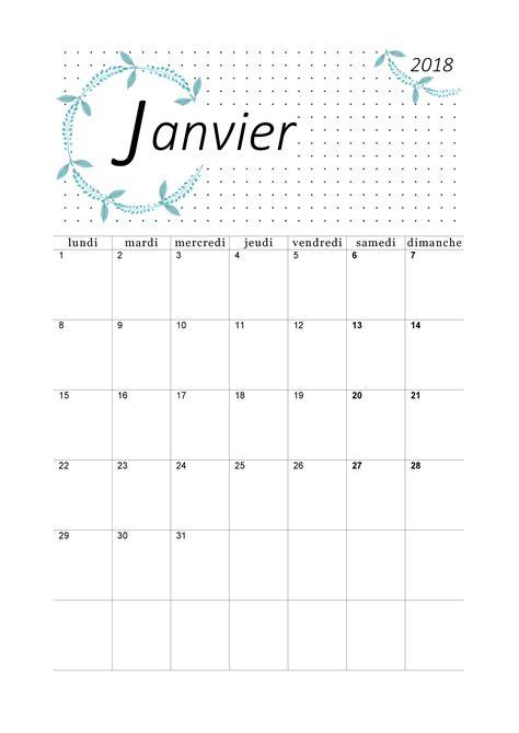 Calendrier 2018 Mensuel Imprimer Calendrier 2018 Mensuel 224 Imprimer Calendriers