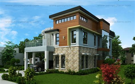 Modern 5 Bedroom House Designs by Amolo 5 Bedroom House Mhd 2016024 Eplans