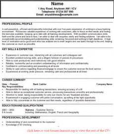 Sample Resume For Banking Job – bank resume examples investment banking resumes investment