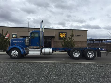 kenworth portland kenworth w900l cab chassis trucks for sale used trucks