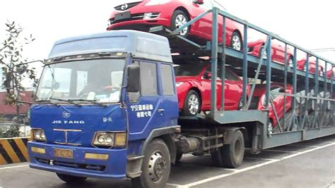vehicle car transporter chinese style youtube