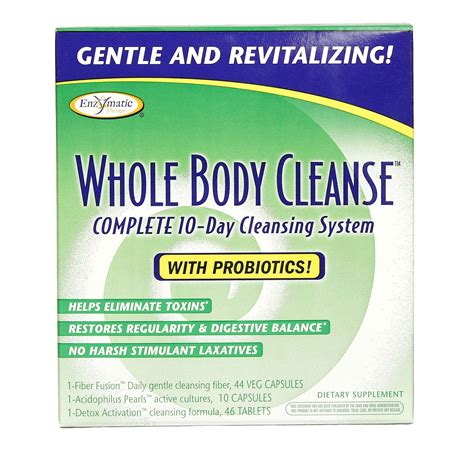 Whole Detox Pills by Enzymatic Therapy Whole Cleanse Um Kit Menor Pre 231 O