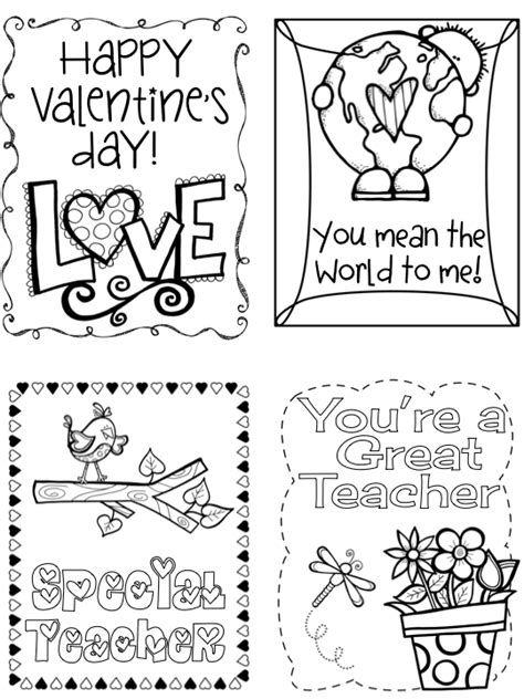 valentines cards for a creative card exchange coloring book for boys and be the of s day books kearson s classroom s day cards