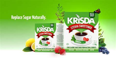 Gula Diet Sachet Sweetener Sachet home krisda sugar free naturally sourced krisda sugar free naturally sourced