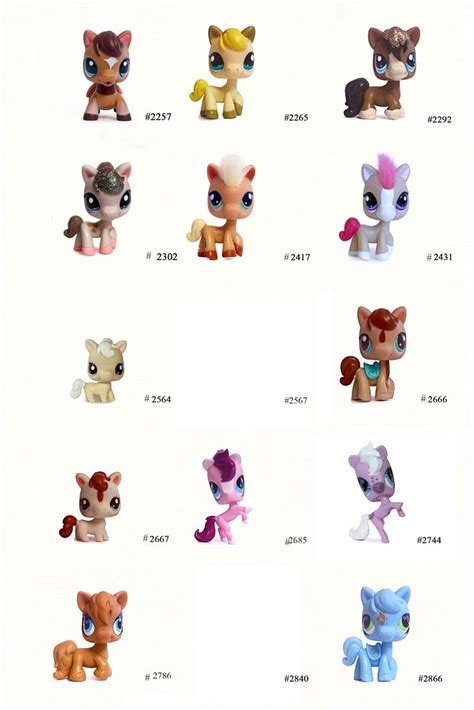 nicoles lps blog littlest pet shop pets horse pet