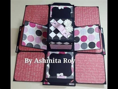 explosion box tutorial start to finish part 2 154 best how to create explosion box cards images on