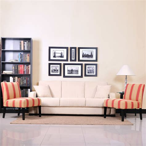 sofa and accent chair set tahoe khaki convert a sofa sleeper and set of 2
