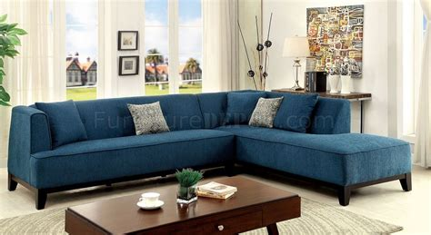 teal sectional couch sofia ii cm6861tl sectional sofa in dark teal fabric