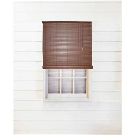 woodgrain interior exterior roll up patio sun shade