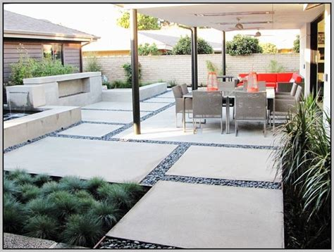 concrete patio designs layouts patios home design