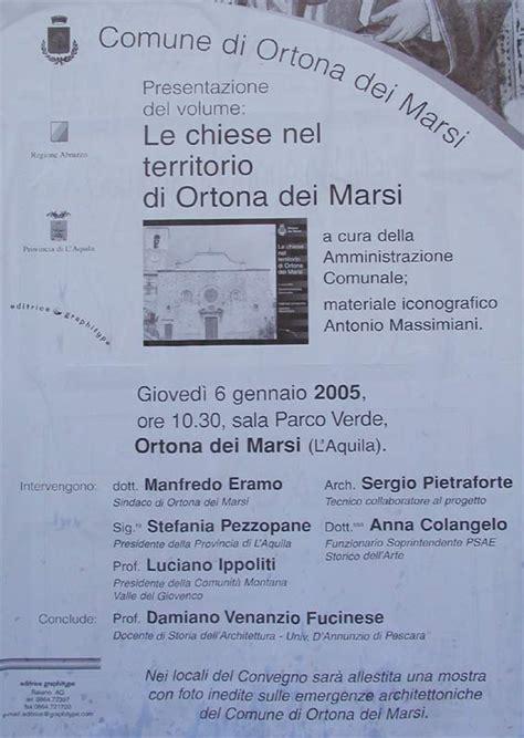 libro il manifesto del libero dpe81 web site ortona dei marsi e dintorni ortona news le chiese nel territorio di ortona