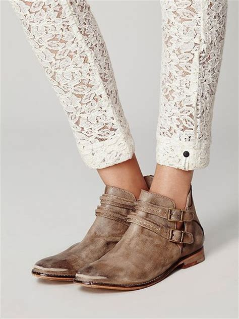 free ankle boots free womens braeburn ankle boot in brown taupe lyst