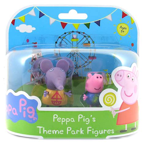 theme park peppa pig peppa pig theme park figures choice of 5 only one