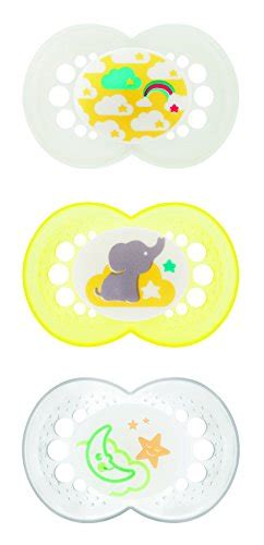 Best Quality Dr Brown S Pacifier Glow In The 0 6 Month 2pcs baby shower gifts for teether pacifier clip