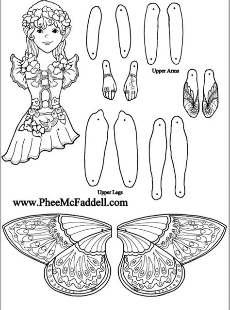 fairy template by alexisfairyb fairy printable