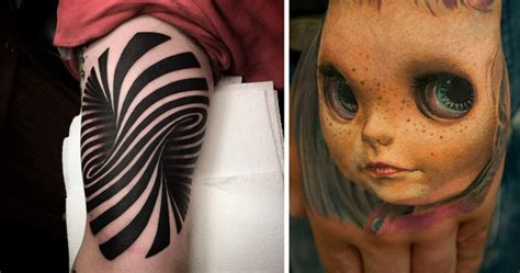 craziest tattoos 25 3d tattoos that will twist your mind bored panda