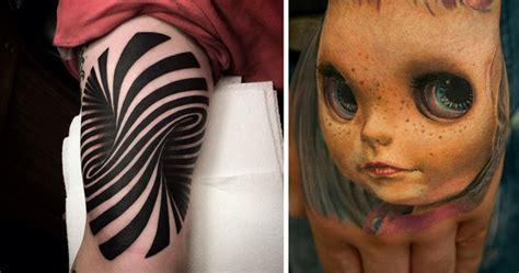 craziest tattoos 25 3d tattoos that will twist your mind bored panda