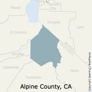 best places to live in alpine county california