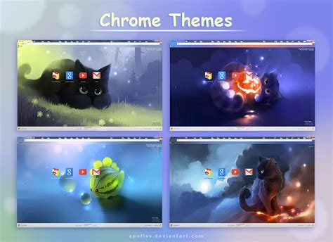 Themes Chrome | chrome themes by apofiss on deviantart