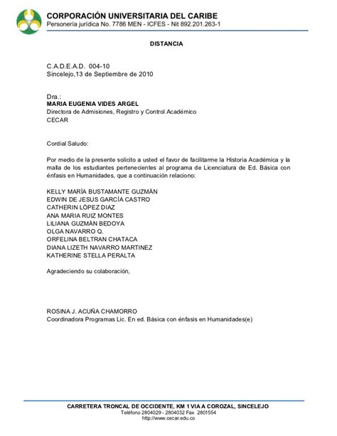 carta de cancelacion semestre cartas 2009