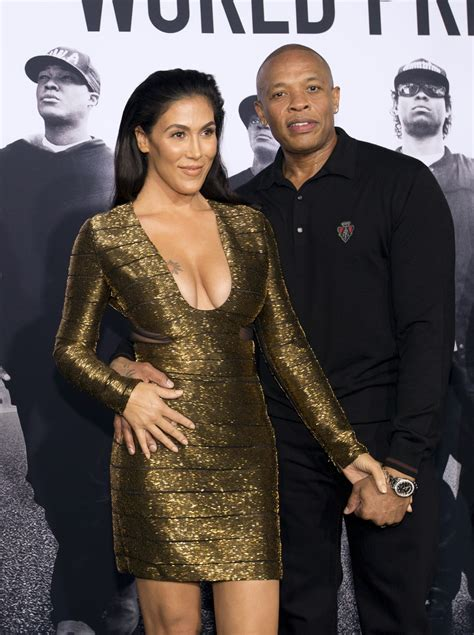 rap producer dr dre s wife nicole black and famous dr dre s wife page 12 sports hip hop piff the coli