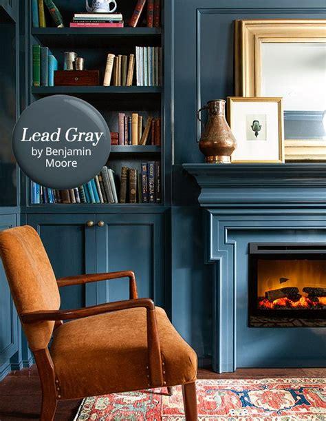 paint color lead gray by benjamin cozy