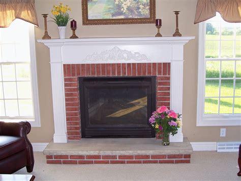 brick fireplace white mantle fireplace brick fireplace with white mantle fireplaces