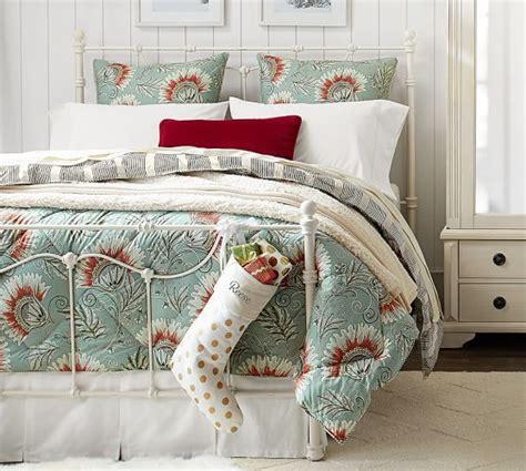 sham and comforter leona reversible comforter and sham pottery barn