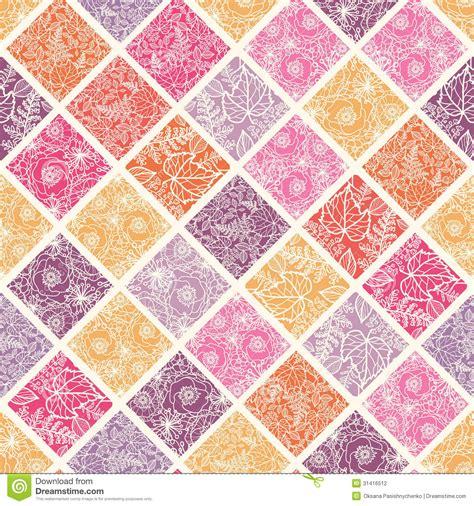 fliese pusteblume floral mosaic tiles seamless pattern background stock