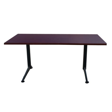 Kimball International Desk by Midcentury Retro Style Modern Architectural Vintage