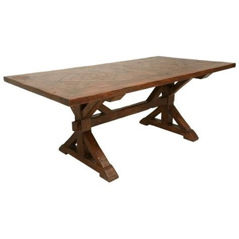 Handmade Farm Table - handmade white oak farm table for sale at 1stdibs