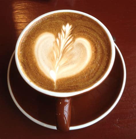 artistic coffee latte coffee art 1