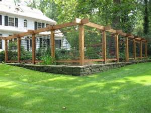 fencing trellis enclosures traditional landscape new york by scott a patkochis llc