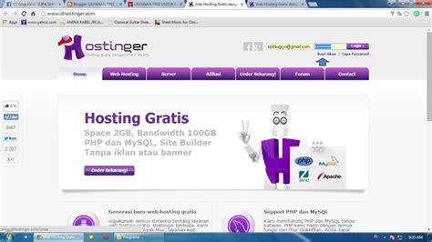 membuat web free layanan free untuk membuat website
