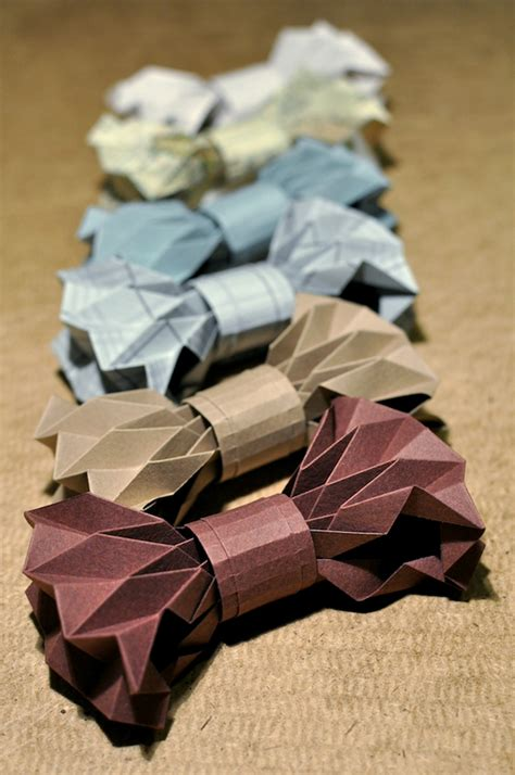 Bowtie Origami - where techy meets pretty etc how to look sharp for the