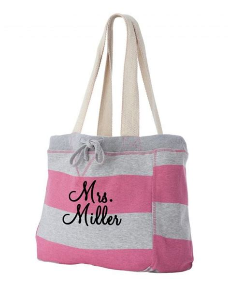 personalized tote bags for bridal shower personalized monogrammed bag monogrammed tote