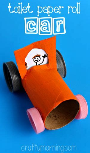 toilet paper roll car craft car crafts toilet paper rolls and toilet paper on